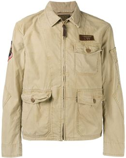 Safari Pockets Lightweight Jacket