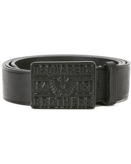 Buckle Plaque Belt