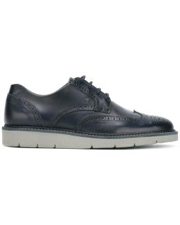 Contrasting Sole Brogues