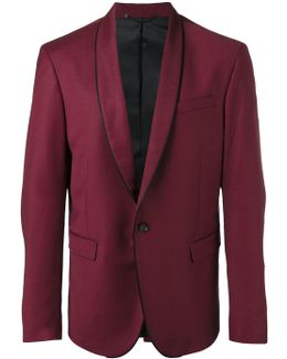Piped Trim Blazer