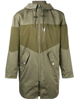 Panelled Military Jacket