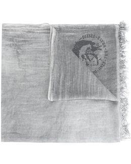 Logo Pattern Scarf