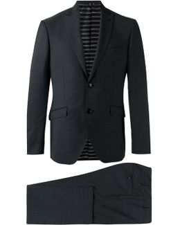 Patterned Two-piece Suit