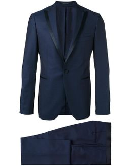 Peaked Lapel Two-piece Suit