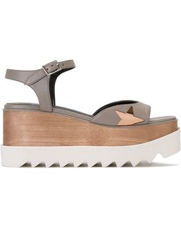 Star Cut-out Sandals