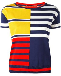 Color Block Stripe Jumper