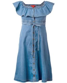 Denim Midi Sun Dress