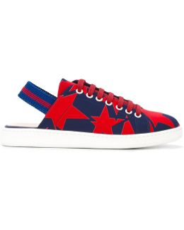 Star Sling-back Sneakers