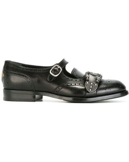Queercore Brogue Monk Shoes