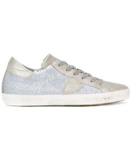 Sequin Embellished Sneakers