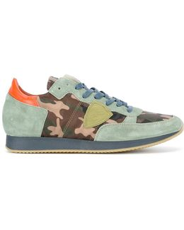 Tropez Camouflage Sneakers