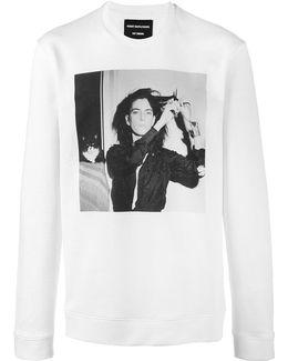 X Robert Mapplethorpe Patti Smith Printed Sweatshirt