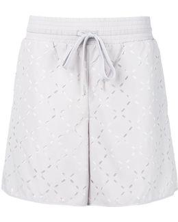 Cut-out Detail Shorts