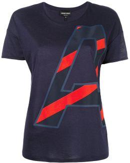 Initial Print T-shirt