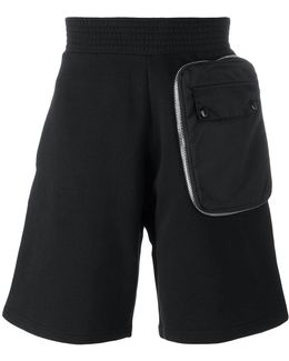 Zip Pocket Bermuda Shorts