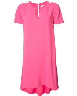 Cut-out Neckline Dress