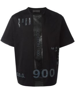 Printed Numbers T-shirt