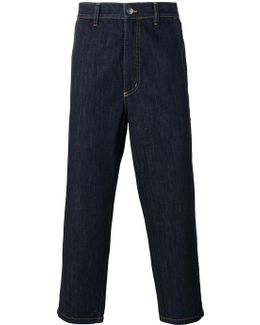 'summer Ginza' Cropped Trousers