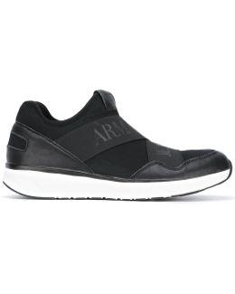 Branded Strap Sneakers