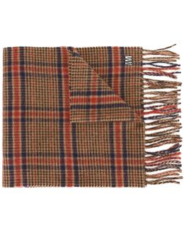Tweed Check Scarf