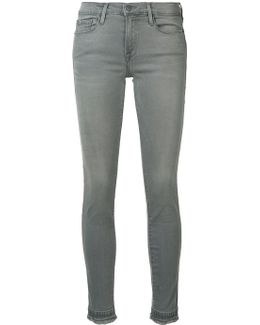 Mid Rise 'le Skinny' Jeans
