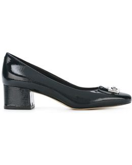 Front Buckle Pumps
