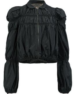 Ruffled Lightweight Jacket