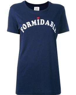 'formidable' Print T-shirt