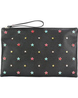 Star Embellished Clutch