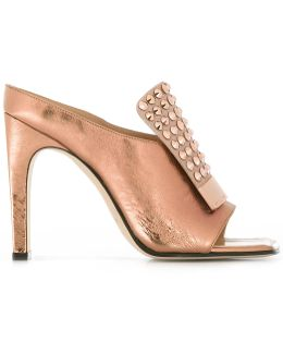 Studded Trim Sandals