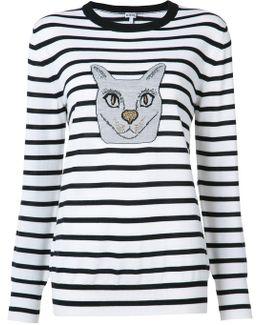 Cat Stripe Sweater