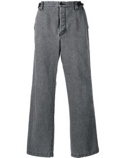 Wide Leg Skater Trousers