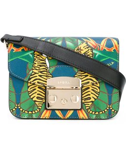 - Tiger Print Cross Body Bag - Women - Calf Leather - One Size