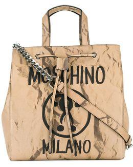 Question Mark Print Shoulder Bag