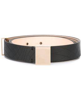 Embossed Pattern Belt