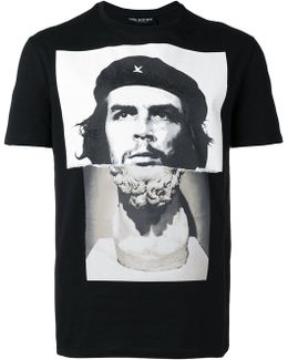 Che Guevara Statue Print T-shirt