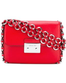 Eyelet Strap Shoulder Bag