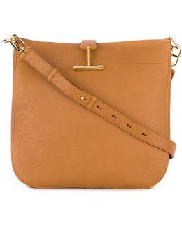 T Clasp Hobo Bag