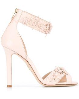 Floral Studs Sandals