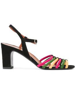 Rainbow Strap Sandals