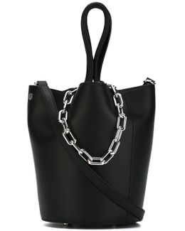 Chain Top Handles Tote