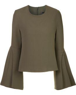 Layered Sleeve Blouse