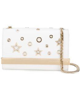 Star Cut-out Clutch Bag