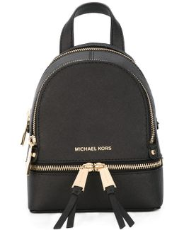 Removable Straps Mini Backpack