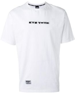 'twtc' Embroidered T-shirt
