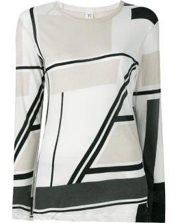 Pattern Long-sleeve T-shirt