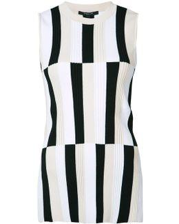 Striped Panel Tank Top