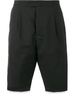Printed Layered Shorts