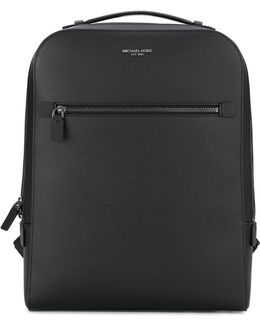 - 'harrison' Backpack - Men - Cotton/leather - One Size
