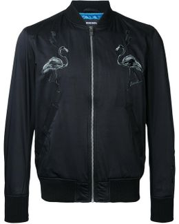 Flamingos Bomber Jacket